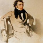 Шуберт в 1825 году (акварель Ридера)